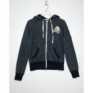 ROOTS CANADA Whistler Full Zip Hoodie Sweatshirt